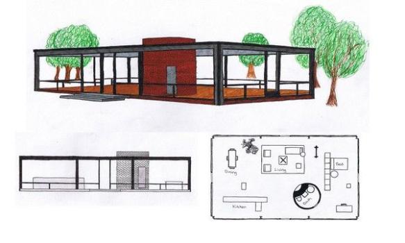 A Mies van der Rohe Tiny House? | Modern Tiny House