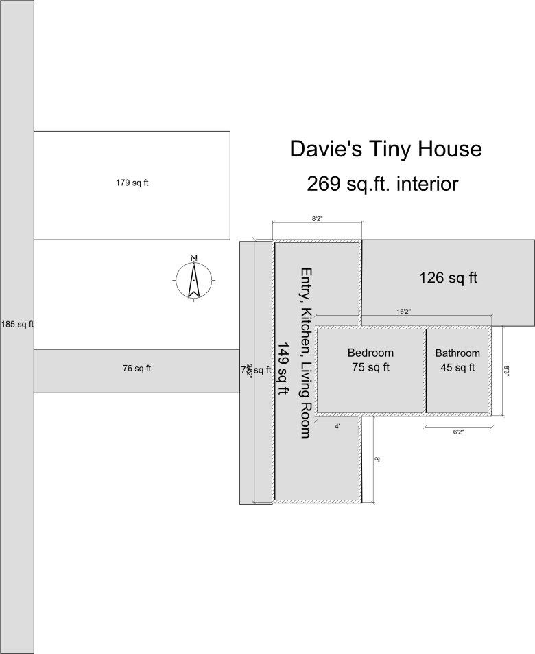 Davies Tiny House Floor Plan