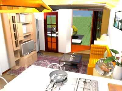 Harlow's tiny house